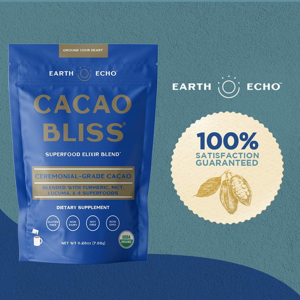 amazon infographics grocery Cacao Bliss