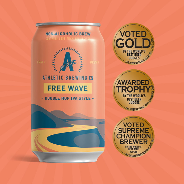 amazon infographics grocery Athletic Brewing Company