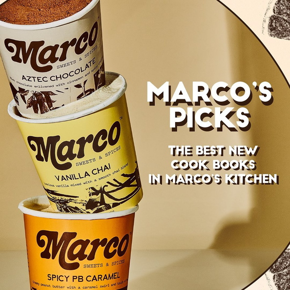 amazon infographics grocery Marco Sweets & Spices