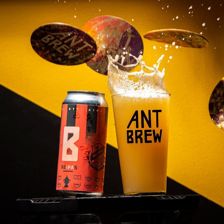 Coloured Backdrops Ant Brew